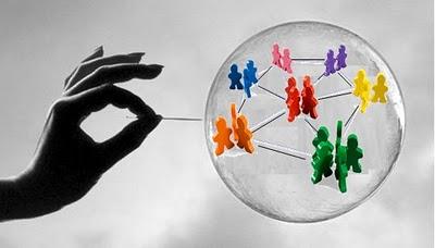 La burbuja de las redes sociales
