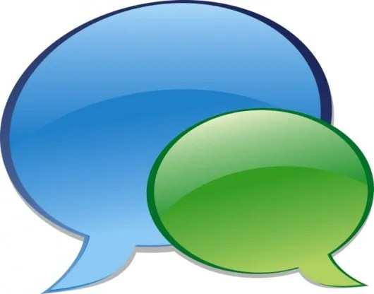 burbujas chat Facebook