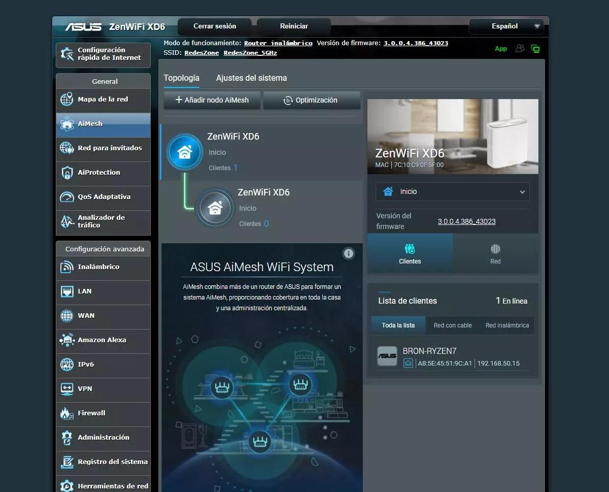 ASUS ZenWiFi XD6 firmware foto - EsTuRadio.Net - Donde está tu Radio