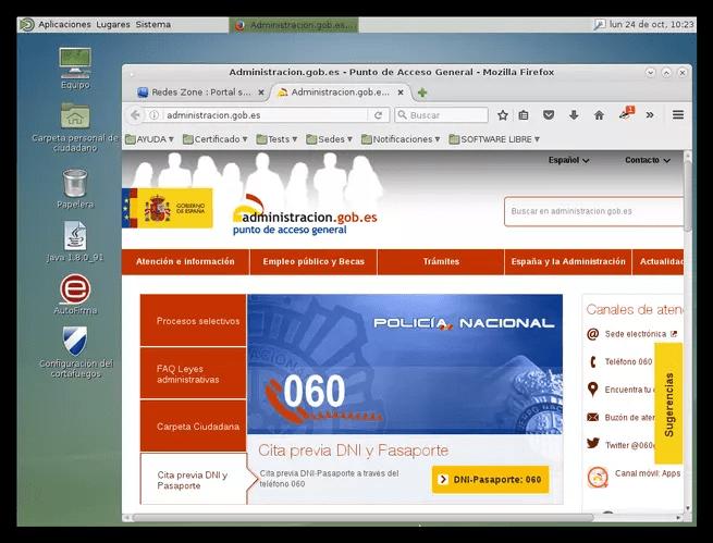 LinuxAE - Administración electrónica