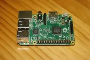 Frontal de la Raspberry Pi 2