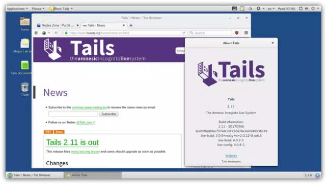 Tails 2.11
