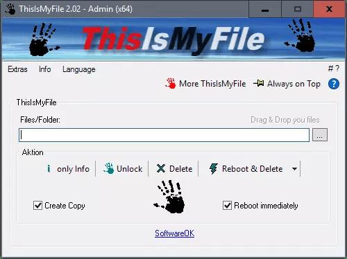 ThisIsMyFile suprime ficheros bloqueados en Windows