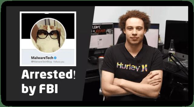 MalwareTechBlog detenido por FBI