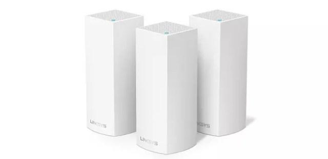 Extensor WiFi de malla de tres nodos Linksys