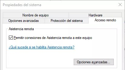 Asistencia Remota Windows 10