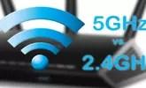 ¿Es mejor conectar un portátil a una red Wi-Fi 2.4 o cinco GHz?