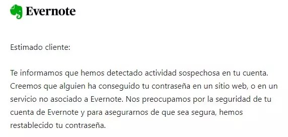 Configurar confianza ©Evernote - 4