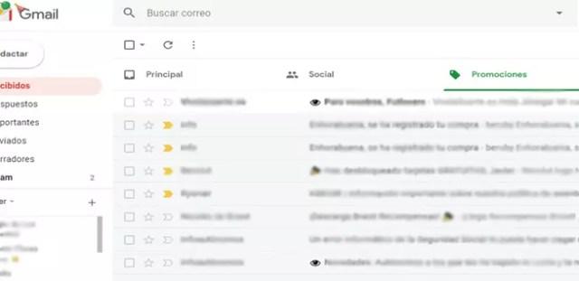 Evitar seguimiento en Gmail