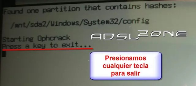 Hacker clave windows