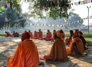 Lumbini Nepal Birthplace of buddha