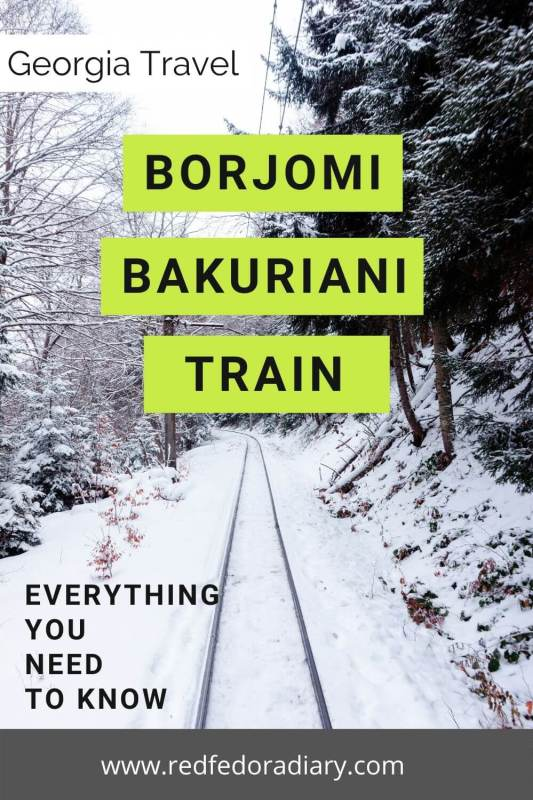 Borjomi Bakuriani Train