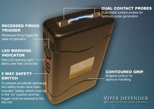 viperdefender small Viper Defender   950,000 volts for peace of mind