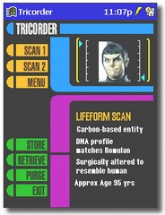 tricorder small Turn your Pocket PC into a Tricorder   its life Jim...