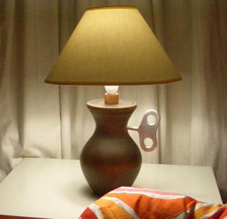 Winduplamp