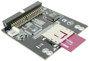 Ide2sdcard small IDE to SD Card Adapter   embed an SD/MMS slot in your desktop PC