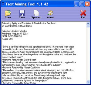 textminingtool small Text Mining Tool   cool free tool grabs text from PDF, HTML, Doc files