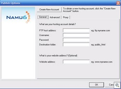 namu6b thumb Namu6 Web Site Creator   free simple site creator is fast fast fast