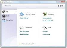 Burnaware – free disc burning software goes CD, DVD and Blu-Ray