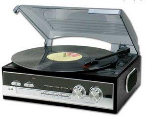 iConverter Turntable Radio – retro your vinyls into the future