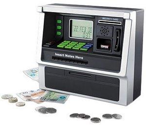 ATM Piggy Bank – what a novel idea
