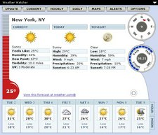 weatherwatcher Weather Watcher   turn your computer into a superb weather station
