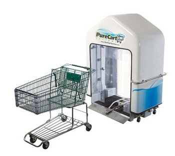 PureCart – shopping carts so clean you can eat out of them