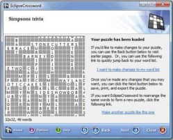 Eclipse Crossword Puzzle Creator – free software for crafting your own puzzle flavours