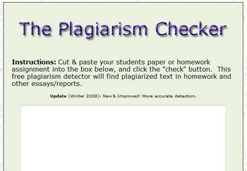 Check if paper is plagiarized