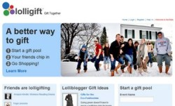 Lolligift – collaborative gift giving done nicely