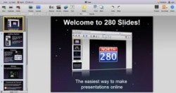 280 Slides – online presentations done with style