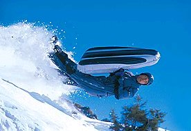 Airboard – inflatable ultra fun in the snow