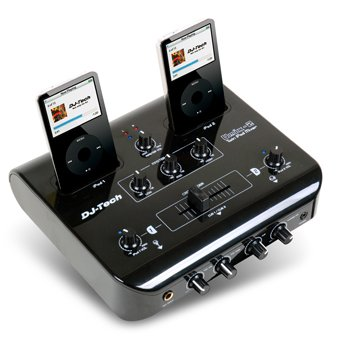 uMix 2 – twin iPod home DJ mixing console