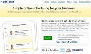 hourtown small Hour Town   feature rich small business online scheduling