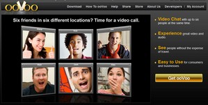 oovoo small Oovoo   free video conference calling for up to six people
