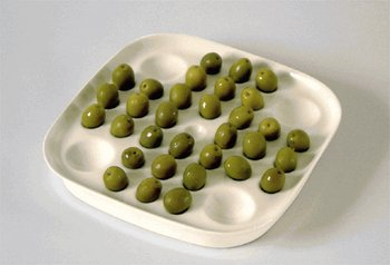 Solitaire Olive Bowl – you've got to earn your nibbles
