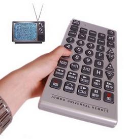 Jumbo Universal Remote – easy on the eyes