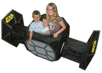 TIE Fighter Playhouse – pew pew