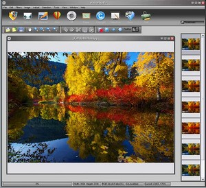 virtualstudio small Virtual Studio   freeware photo editor offers Photoshop plugin support