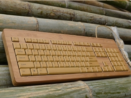 bamboo keyboard Bamboo Keyboard   a green alternative