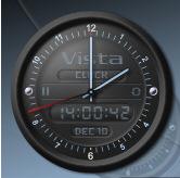 vistaclock Vista Clock   free analog clock with chimes, yeh chimes man