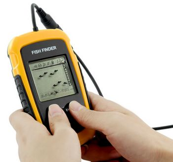 fishfinder Fish Finder with Sonar Sensor   Here fishy fishy fishy
