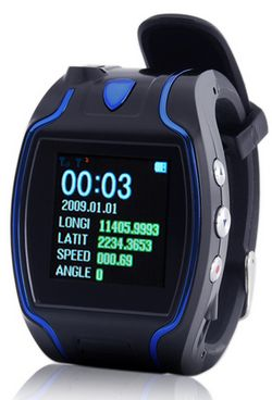 gpscellphonewatch 1 GPS Cellphone Wrist Watch   Time to stop getting lost