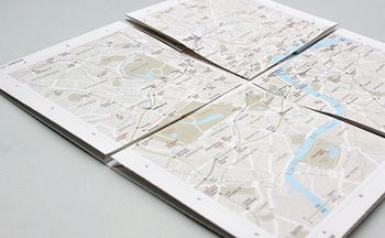 Map2 – The paper map with built-in zoom function
