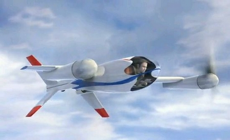 The Puffin – NASA's one man stealth plane