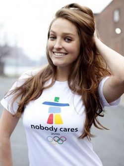 Nobody Cares Winter Olympics T Shirt – Winter what's that you say?