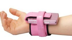 Wrist Cell Phone Carrier – Don't leave home without your phone