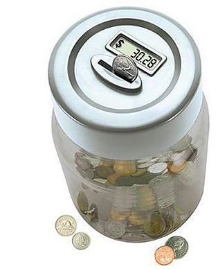 Digital Counting Money Jar – Look after the pennies and so on