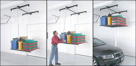 Racor HeavyLift – Lifts your stuff out of the way and stores it