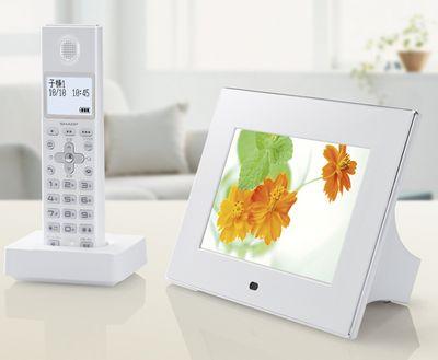 Sharp JD7C1CL – Home phone and digital photo frame